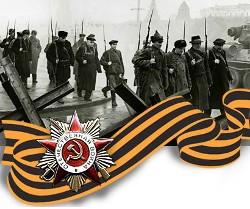 Bild:9. Mai 2010 - 65. Jahrestag der Befreiung vom Hitlerfaschismus durch die Rote Armee