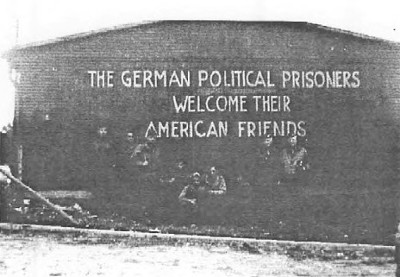 Early in June 1945 on our travel from Detmold to Eisleben we stopped in Weimar and took a side trip to Concentration Camp Buchenwald. It had been libarated on April 11 by American troops.
