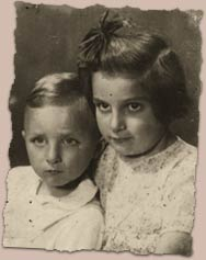 Krystyna and Pawelek Chiger together in 1941