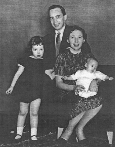 Ralph, Ruth, Sheryll, Kenneth in March 1956