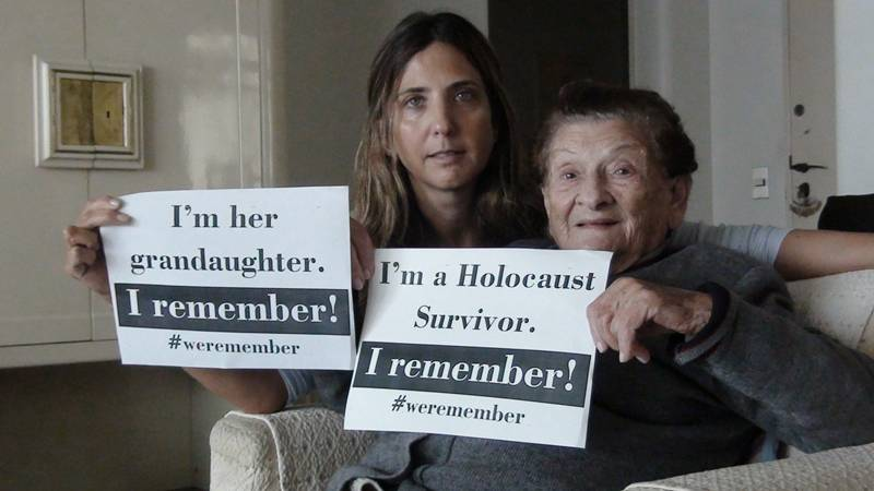 Rivka Daskal Fidelholc survived: Auschwitz, Gelsenkirchen, Buchenwald, the British attacks in the Mediterranean shores while trying to reach Israel Lands and a safe place to live and also the Independence war in 1948 before coming to Brazil in 1951 and starting her family. 2017 International Remembrance Holocaust Day, is also her 90th birthday. Say Mazal Tov to Rivka!