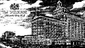 Picture of the Shelburn Hotel in Atlantic City, where we spent our honeymoon